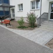 Neugestaltung der Außenanlagen