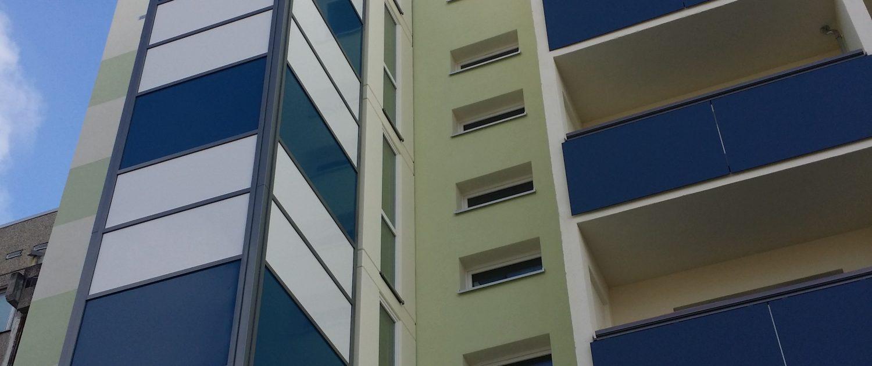 Anbau Fahrstühle - 3. Bauabschnitt